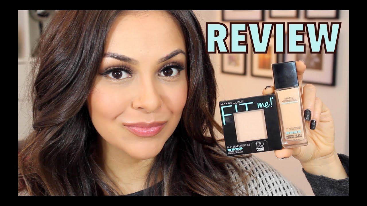 Maybelline Fit Me Foundation Natural Beige Review