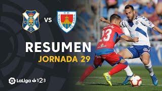 Resumen de CD Tenerife vs CD Numancia (1-1)