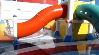 Carnival Splendor Water Park Play Area