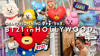 GRAND REOPENING: LINE FRIENDS x BT21 in LA!! here to stay rip my $$$ + haul!! ☆