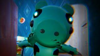 MY NEW NEIGHBOR IS ROBLOX DINO PIGGY - Hello Neighbor Mod