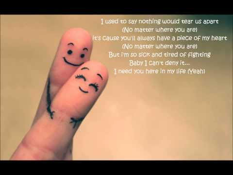 Claude Kelly-You And I (Lyrics)