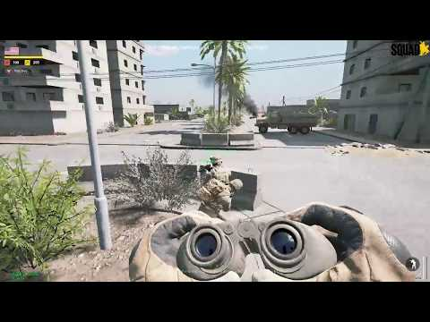 Squad with Socrates - V. 9.7 - Al Basrah - Central Intersection FOB Intense Battle