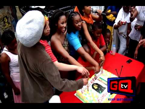 GQ TV--In Jamaica Bob Marley's 67th birthday.Interview with Sizzla don't miss it!!!!