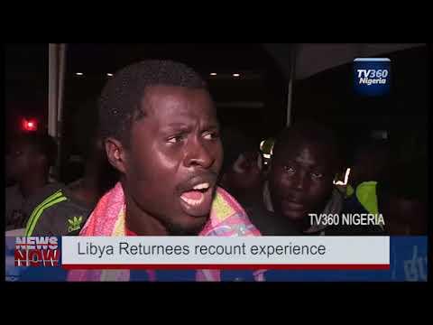 Nigerian  returnee migrants recount experiences in Libya