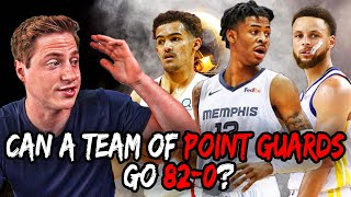 Can a team of ONLY Point Guards Go 82-0? | NBA 2k19 Rebuild ft. Ja Morant