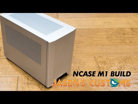 Let's Build Something: NCASE M1 ITX Build (Small Form Factor PC)