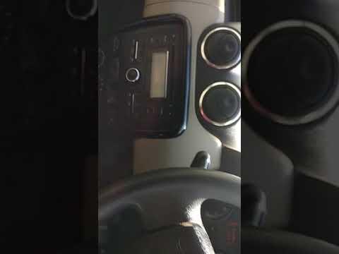Duster radio code input