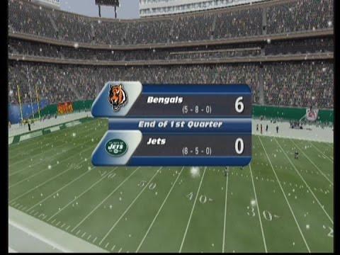 Madden 2002|CIncinnati Bengals Season|Game 14 at New York Jets