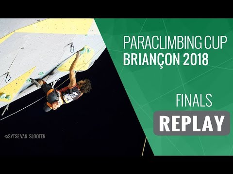 Paraclimbing Cup Briançon 2018 - Finals Men/Women
