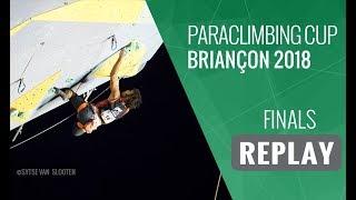 Paraclimbing Cup Briançon 2018 - Finals Men/Women