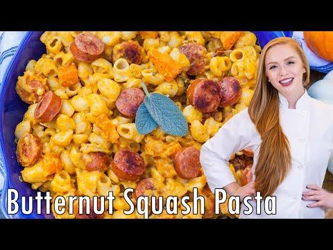 Sausage & Butternut Pasta