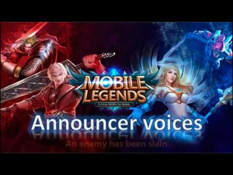 Mobile Legends: Announcer Voices