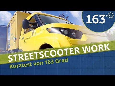 StreetScooter Work der Deutschen Post DHL - 163 Grad Hamburg 4K Deutsch