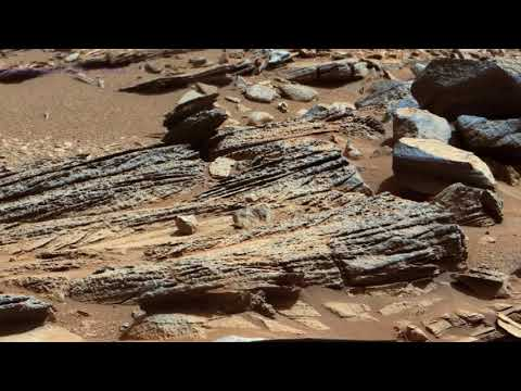 Water on Mars Surface 4K | Perseverance | Curiosity Rover