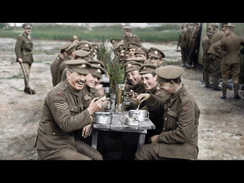 St. Pierre - Get A New Look At World War I In 'They Shall Not Grow Old'