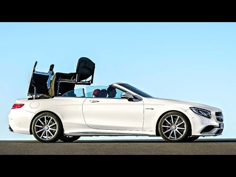 Mercedes S Class Cabrio, первые фото КлаксонТВ