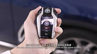 BMW X7 - BMW Display Key