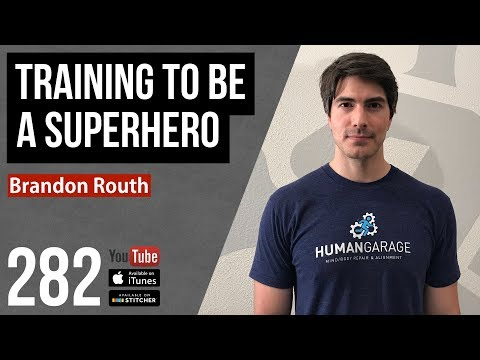 Training to be a Superhero w Brandon Routh  282