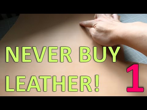 NEVER BUY LEATHER BEFORE WATCHING THIS VIDEO 1 | WHICH PART OF HIDE?