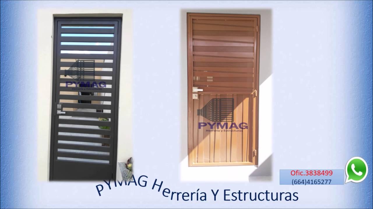 Puertas de herreria youtube for Puertas para recamara economicas