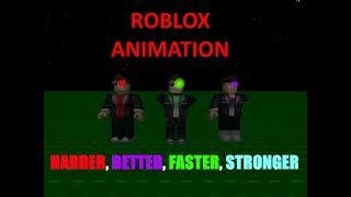 [Roblox Animaion] HARDER BETTER FASTER STRONGER Meme