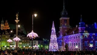 Warszawa - Świąteczna iluminacja 2013