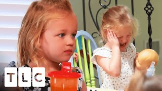 Sibling Rivalry Ends Up In Ridiculous Fights! | OutDaughtered