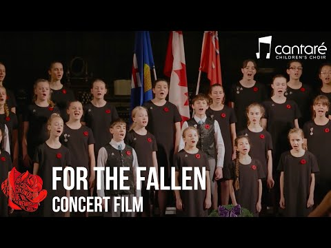 Cantaré Children's Choir Calgary:  For The Fallen concert