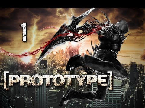 Prototype Walkthrough - Part 1 Prologue Rampage Lets Play PS3 XBOX PC (Gameplay / Commentary)