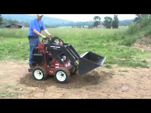 2002 Toro Dingo 320d Mini Rubber Tired Skid Steer Loader