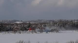 2020_02_08 JR北海道 宗谷線 ラッセル車 雪の日