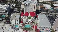 (4k) Hampton Inn & Suites Clearwater Beach . Florida