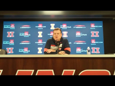 Brad Underwood - Michigan preview & Maryland postmortem