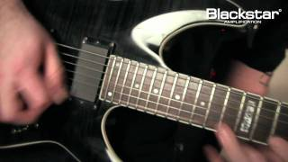 ANDY JAMES - BURN IT DOWN shred solo using the Blackstar Series One 1046L6