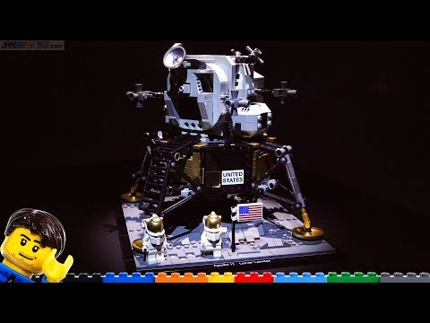 LEGO NASA Apollo 11 Lunar Lander review 10266
