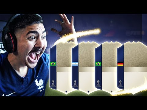 25 ICON SBC PACKS NO WAY FIFA 18 World Cup