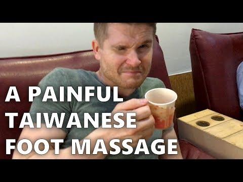 A Painful Taiwanese Foot Massage