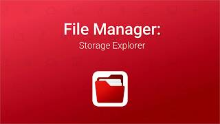 File Manager: Storage Explorer