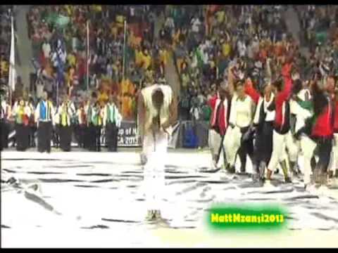 dbanj perform closing ceremony Africa cup of nation