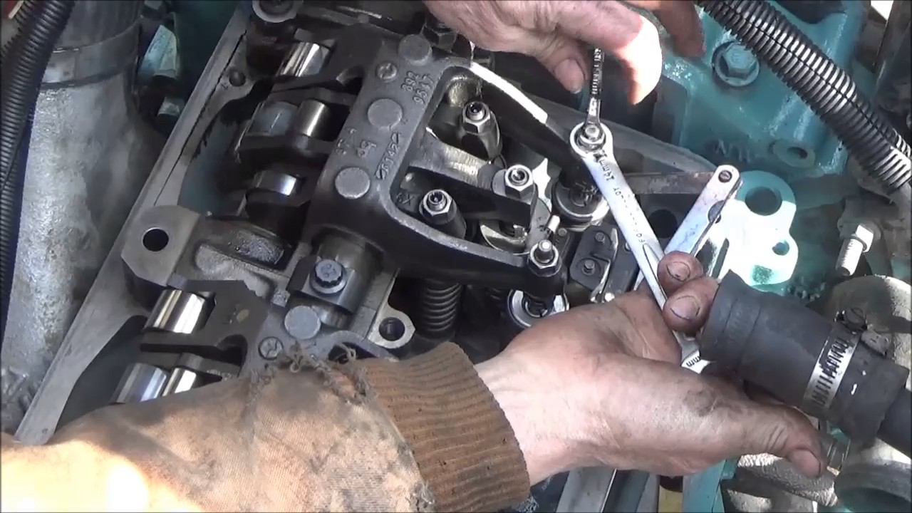 hight resolution of detroit series 60 in frame rebuild part 14 valve adjust running overhead