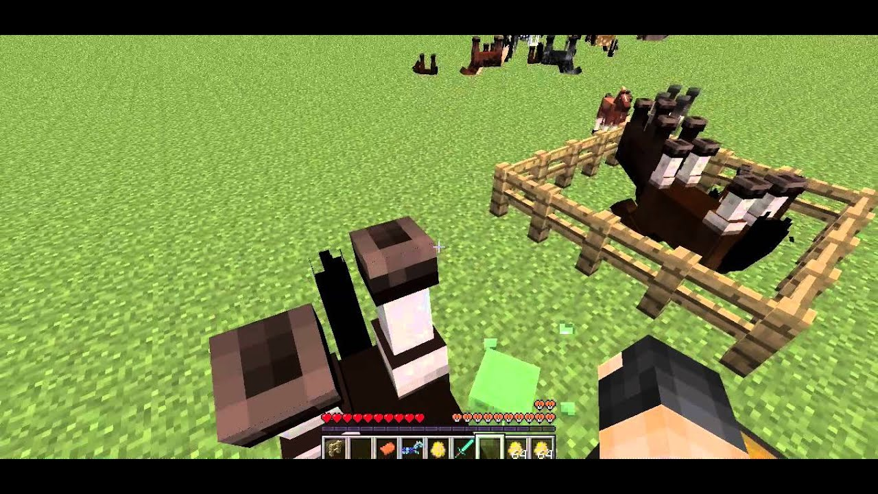 how to make animal upside down minecraft