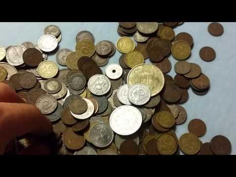 German Coins Weimarer Republik, Third reich, Postwar and Cold War