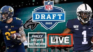 EAGLES ON THE CLOCK | NFL DRAFT DAY 3 WATCHALONG