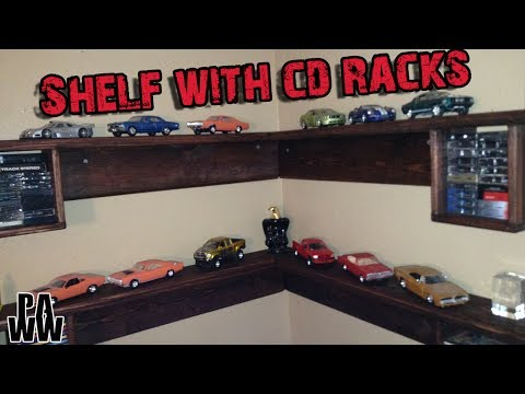 Making a shelf with built in CD racks
