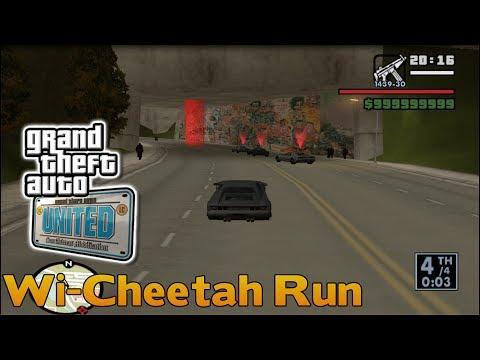 GTA United - Liberty City Race #6 - Wi-Cheetah Run