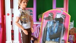 Сериал с Барби  День рождения Кена, новый набор одежды для Кена от Барби Mattel