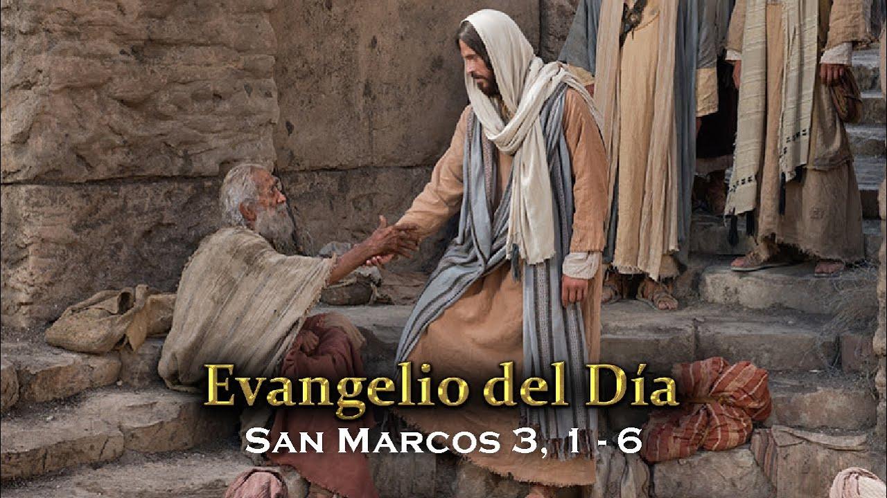EVANGELIO DEL DÍA – 20 / Enero / 2016 - (San Marcos 3, 1-6) - YouTube