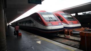 アキーラさん利用⑤高速列車アルファ・ペンドゥラール(AP)!ポルトガル・リスボン→ポルト!Alfa Pendular,Lisbon in Portgul to Porto