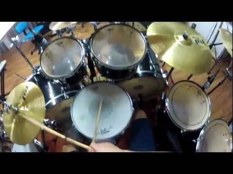 GoPro 1st Person Drumming: Rosanna Shuffle